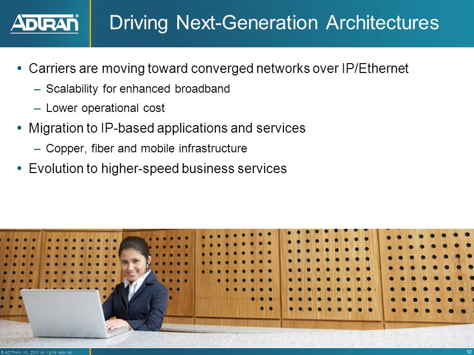 Driving Next-Generation Architectures