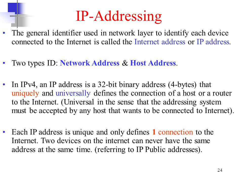 IP-Addressing