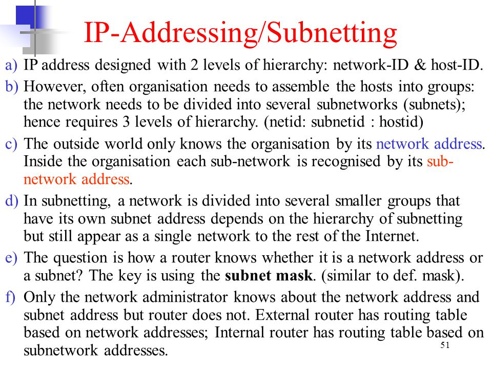 IP-Addressing/Subnetting