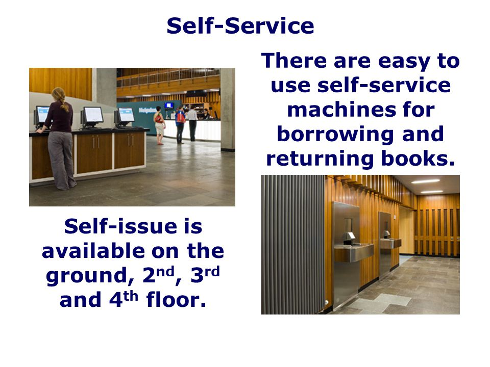 Self-issue is available on the ground, 2nd, 3rd