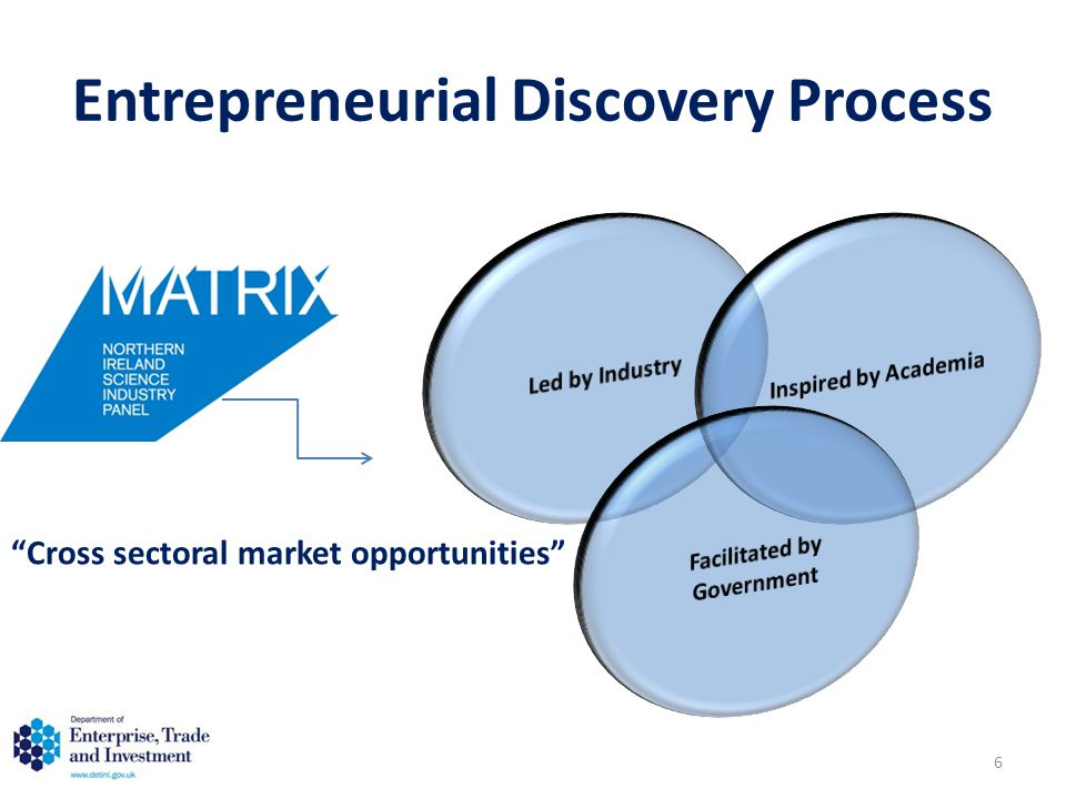 Entrepreneurial Discovery Process