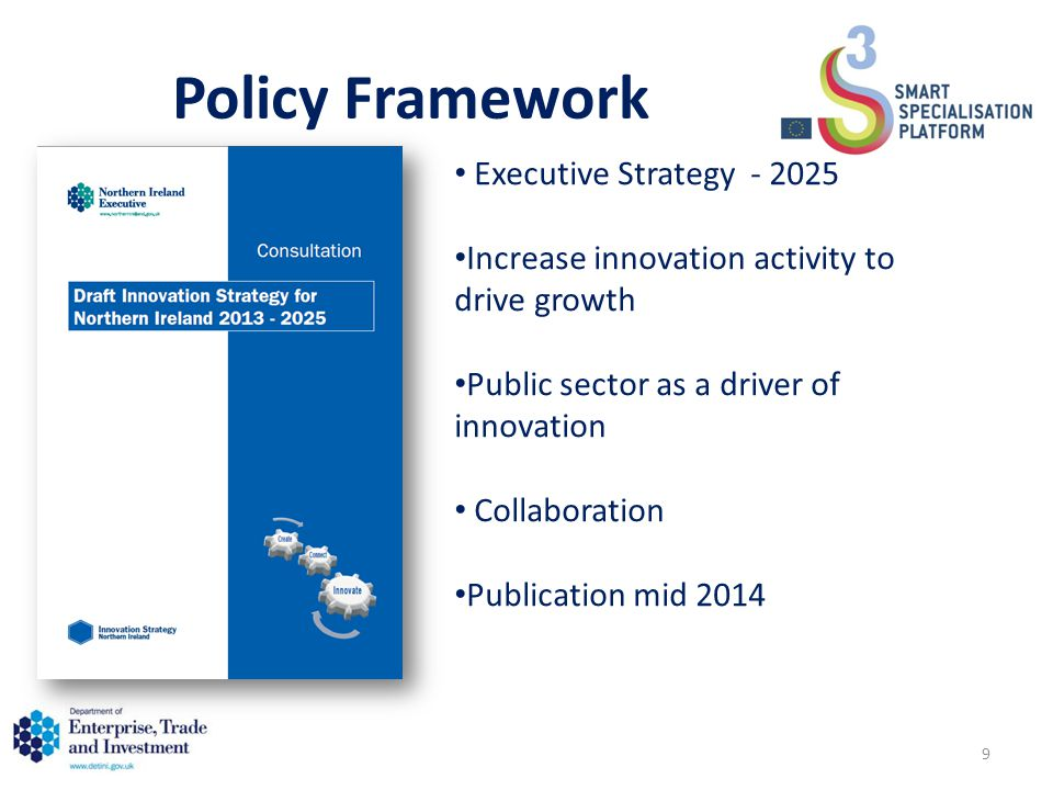 Policy Framework Executive Strategy - 2025