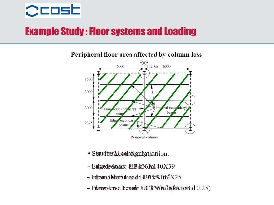 Example Study : Floor systems and Loading