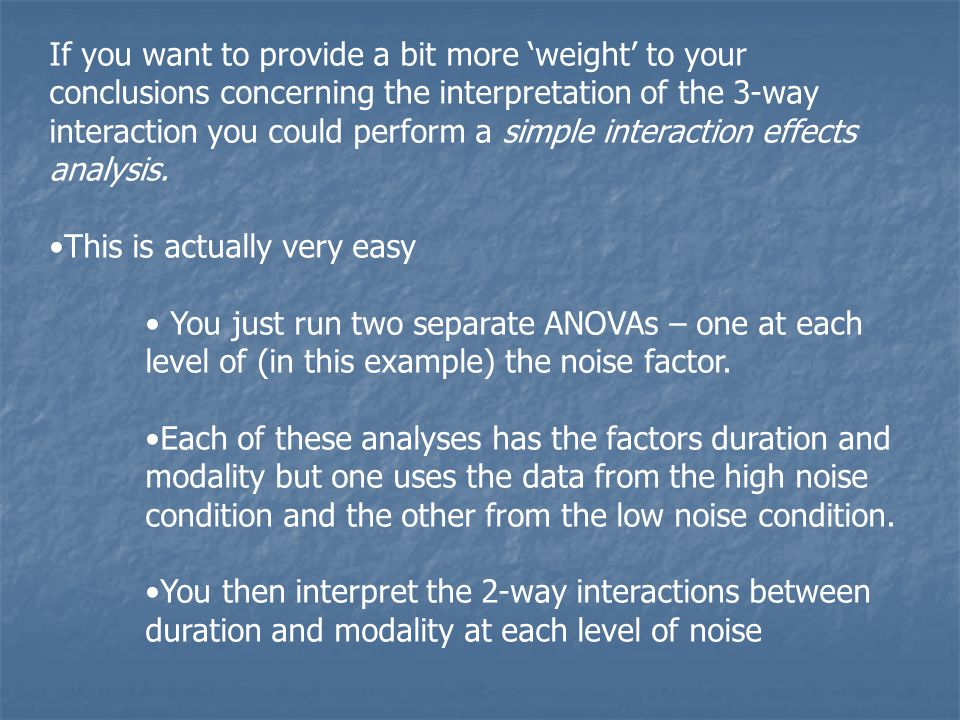 If you want to provide a bit more 'weight' to your conclusions concerning the interpretation of the 3-way interaction you could perform a simple interaction effects analysis.