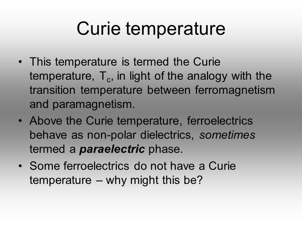 Curie temperature