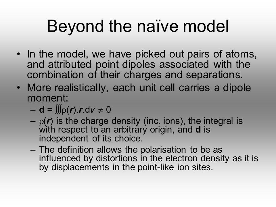 06/04/2017 Beyond the naïve model.