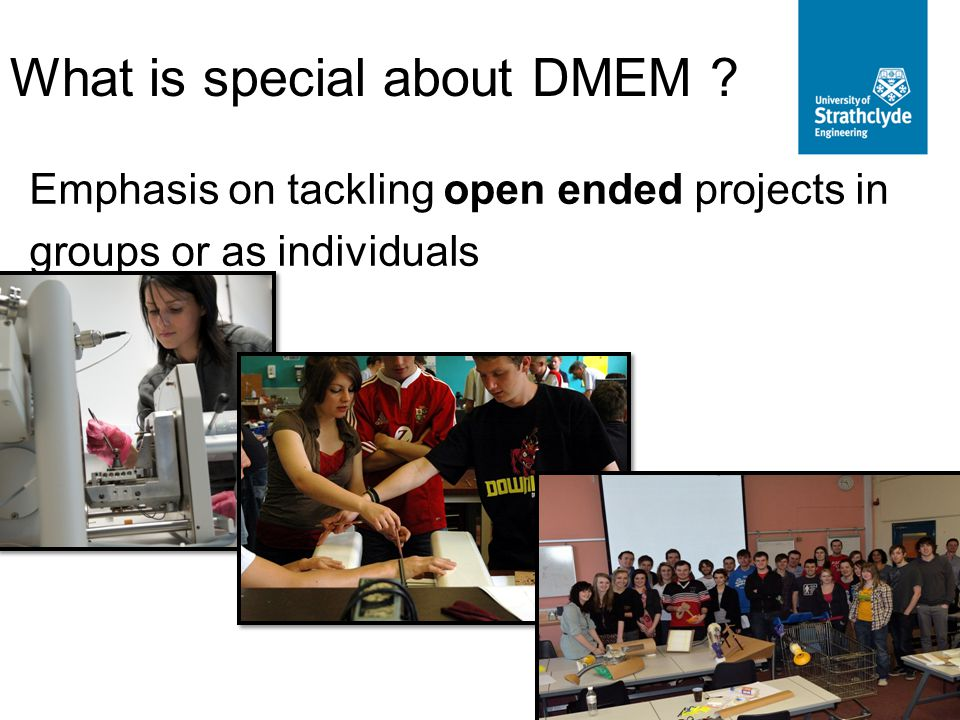 What is special about DMEM