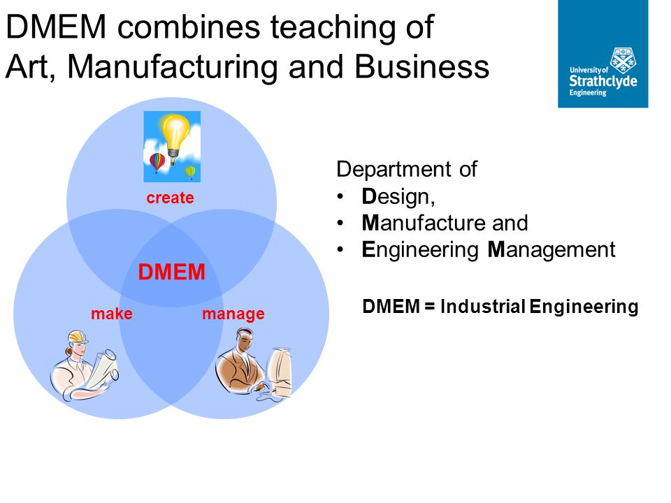 DMEM = Industrial Engineering