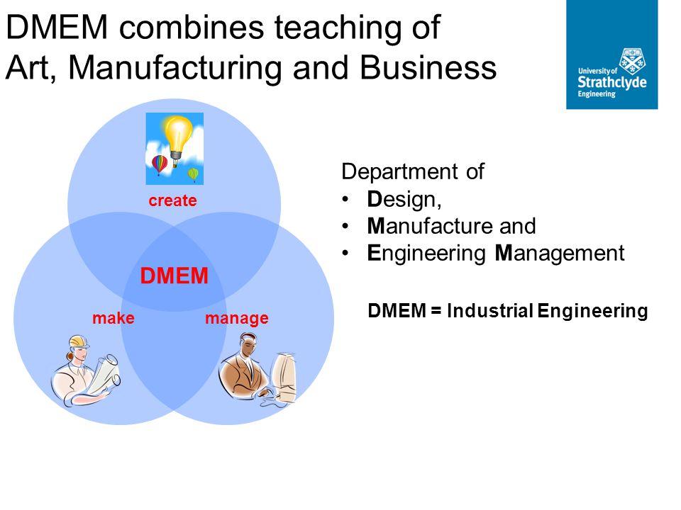 DMEM = Industrial Engineering