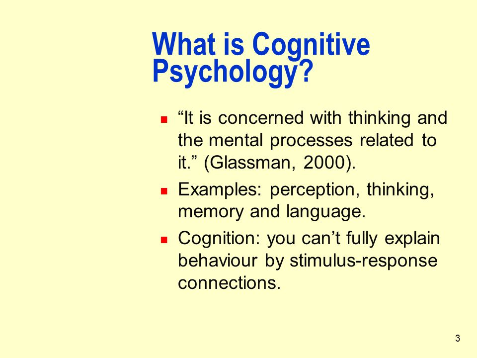 four paradigms of cognitive psychology Each _____ has four parts: (1  _____ asserts that psychology and psychopathology  one of the key influences shaping cognitive behavior therapy is the notion.