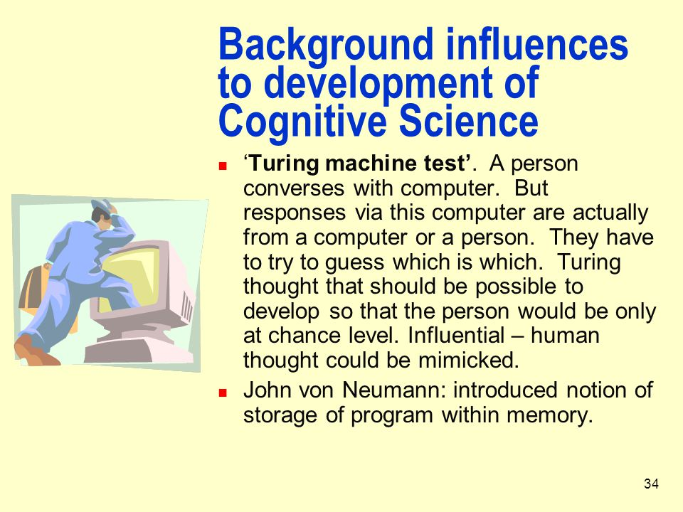 Background influences to development of Cognitive Science