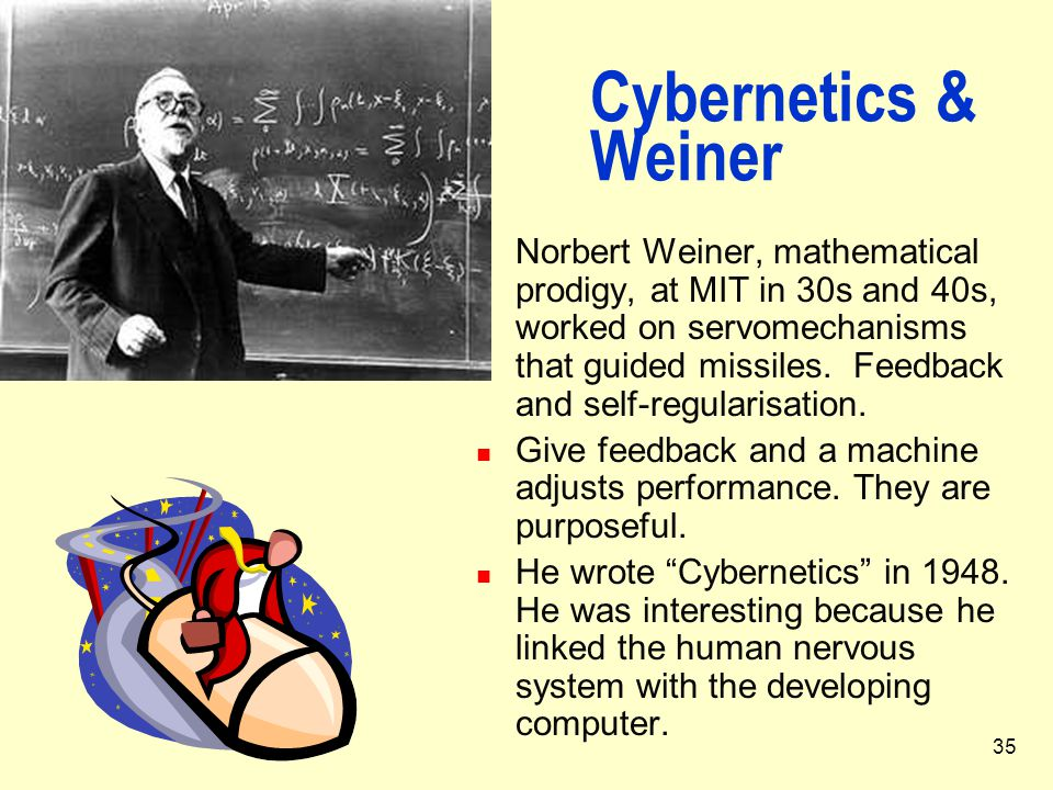 Cybernetics & Weiner