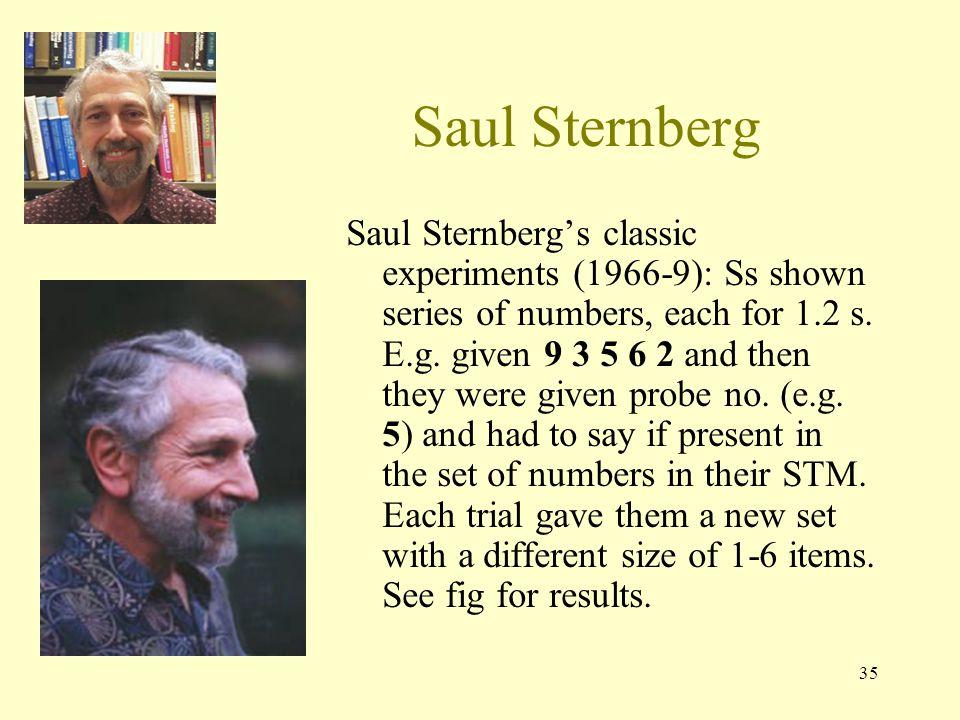 Saul Sternberg