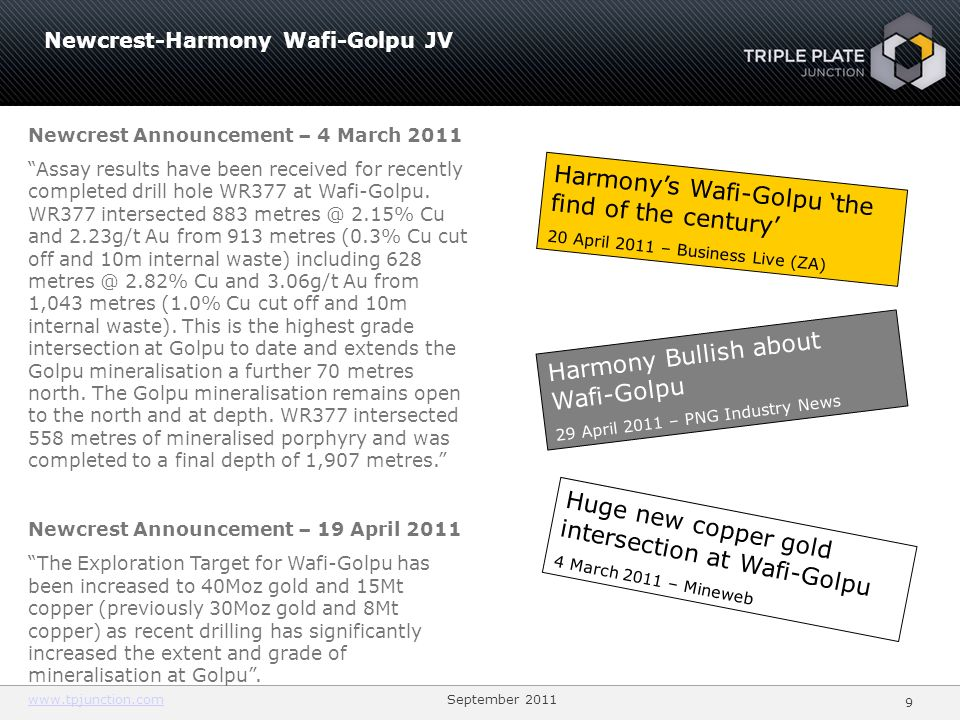 Harmony's Wafi-Golpu 'the find of the century'