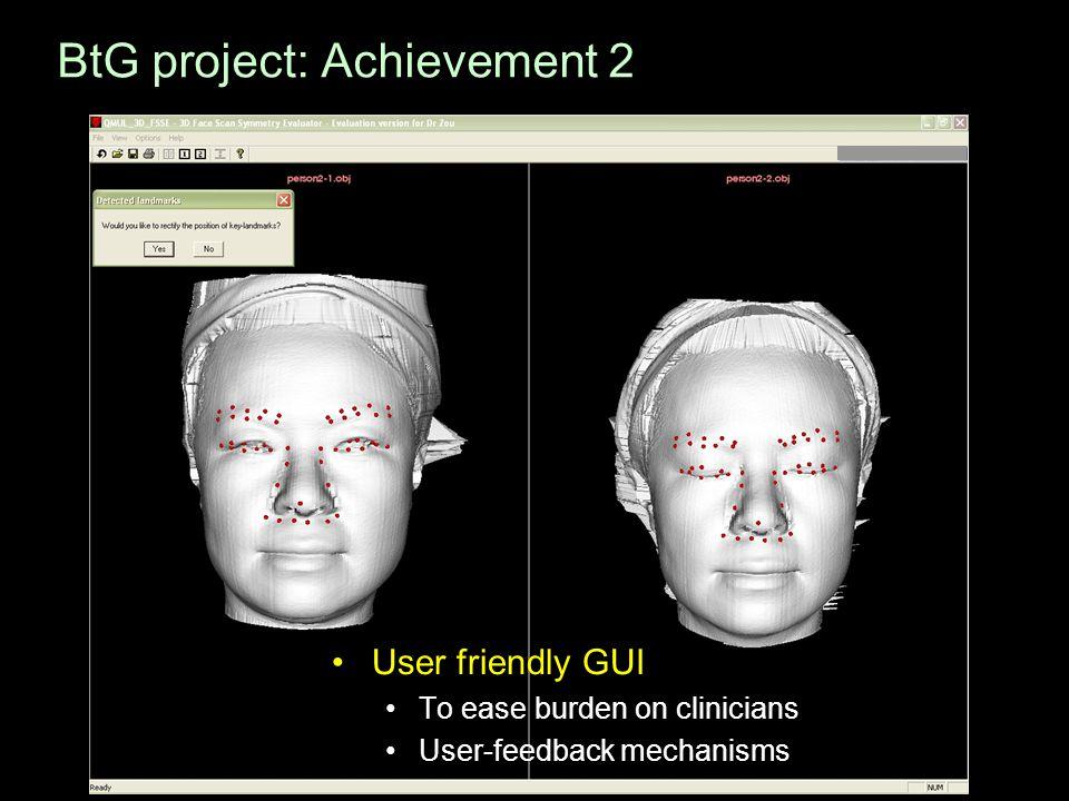 BtG project: Achievement 2