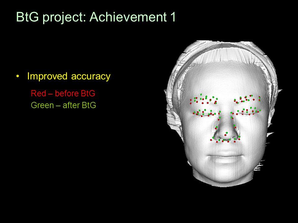BtG project: Achievement 1