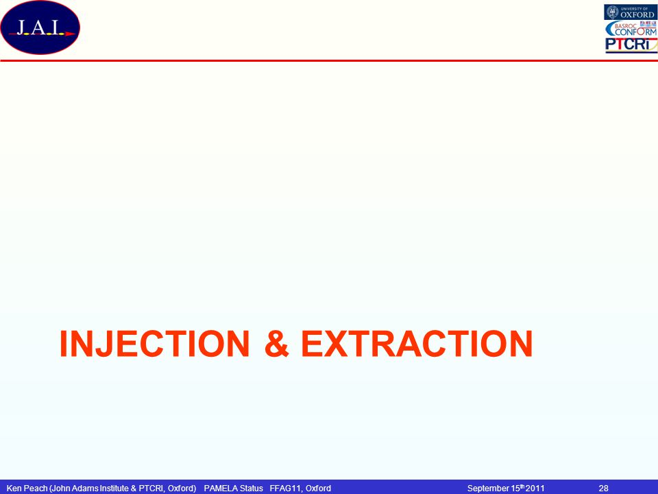 Injection & Extraction