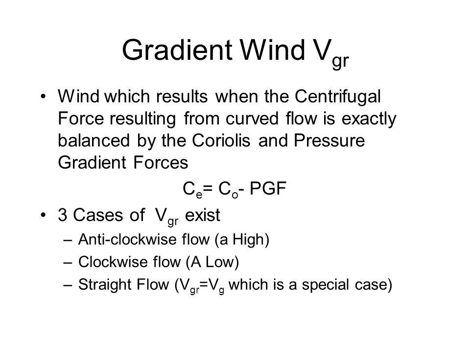 Gradient Wind Vgr