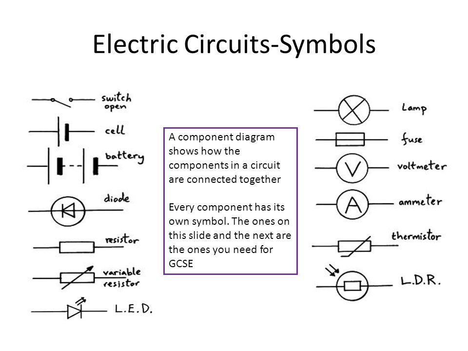 Exelent Circuit Symbols Battery Elaboration - Schematic Diagram ...