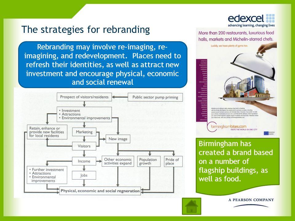 The strategies for rebranding