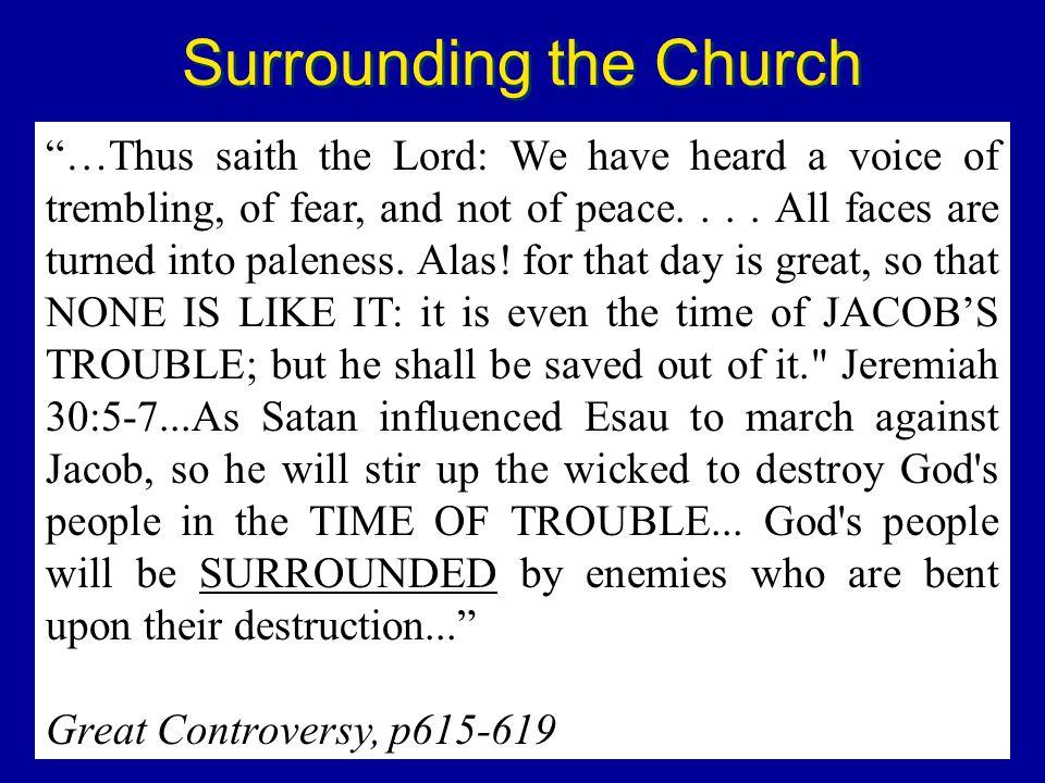 Surrounding the Church