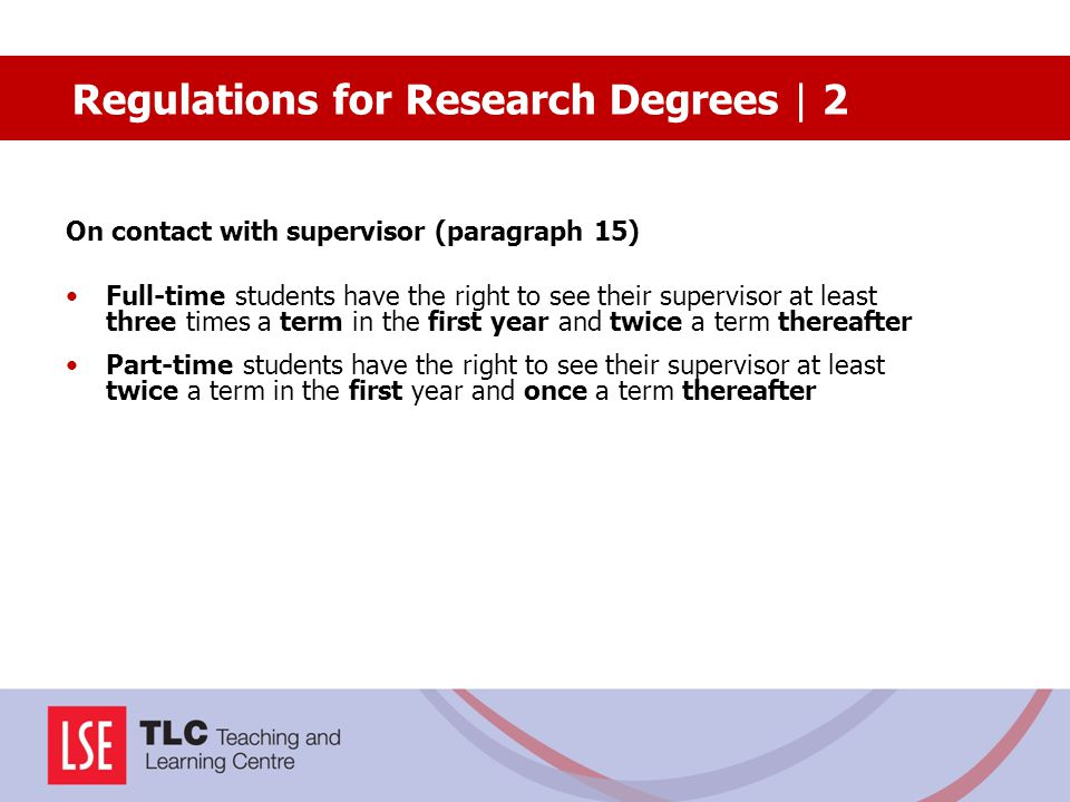 Regulations for Research Degrees | 2
