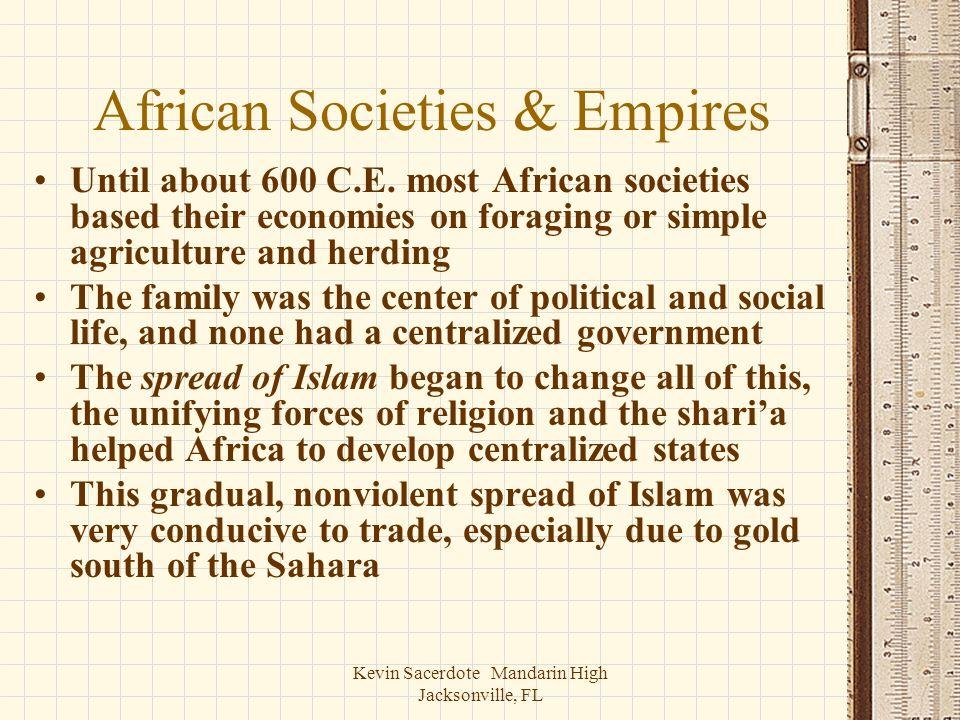 African Societies & Empires