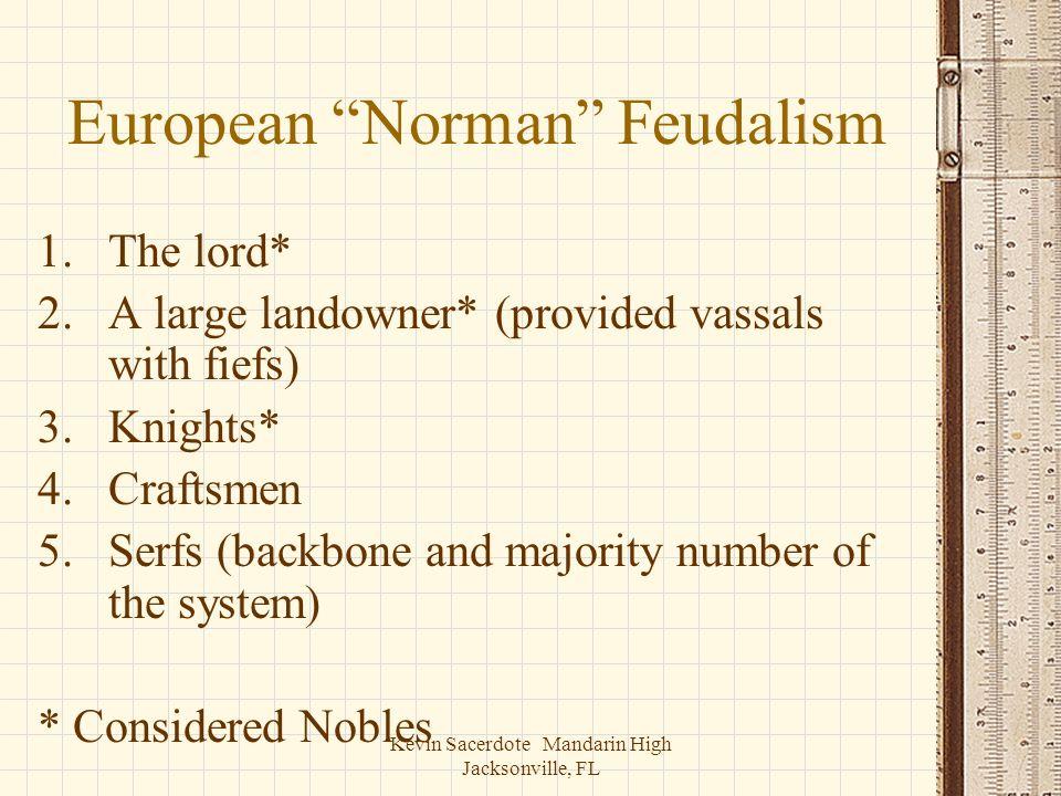 European Norman Feudalism