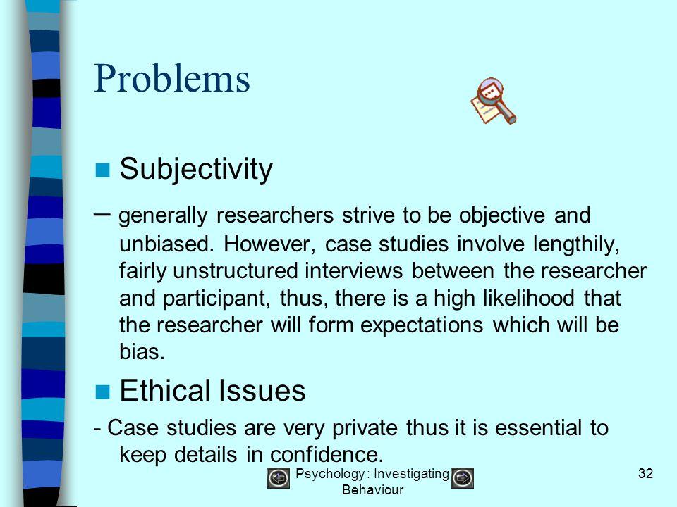 Psychology : Investigating Behaviour