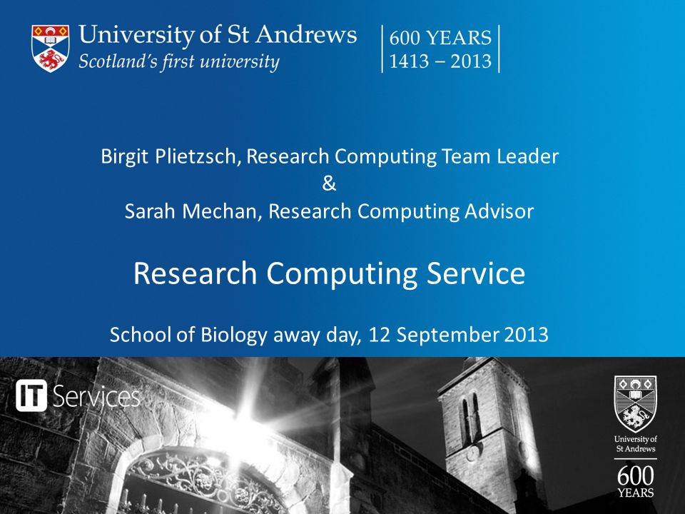 Research Computing Service