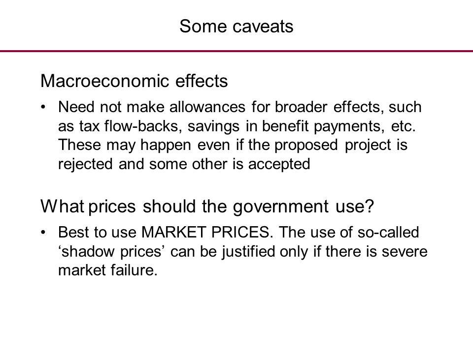 Macroeconomic effects