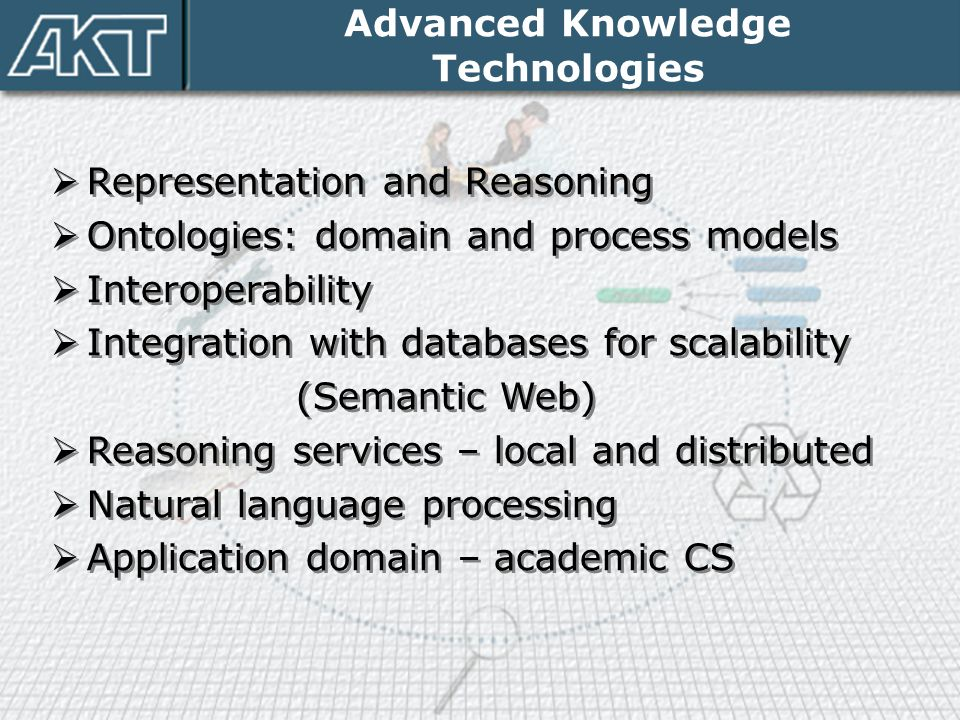 Advanced Knowledge Technologies