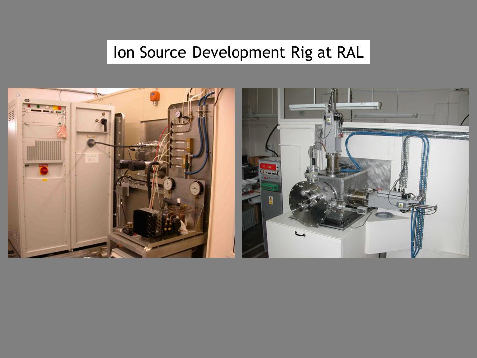 Ion Source Development Rig at RAL