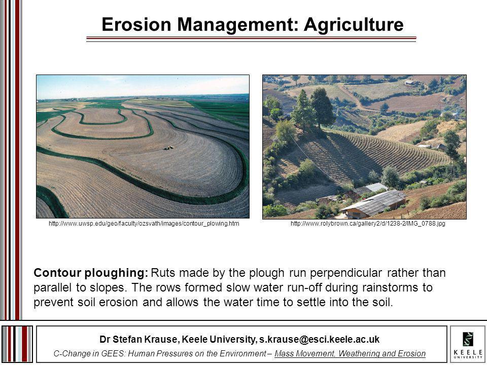 Erosion Management: Agriculture