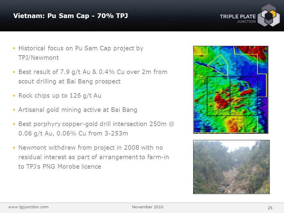 Vietnam: Pu Sam Cap - 70% TPJ