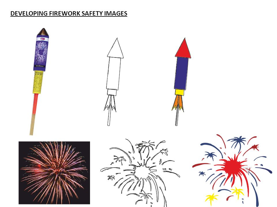DEVELOPING FIREWORK SAFETY IMAGES