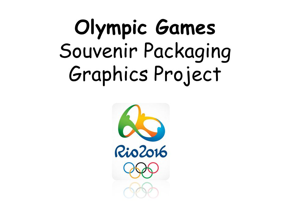 Olympic Games Souvenir Packaging Graphics Project