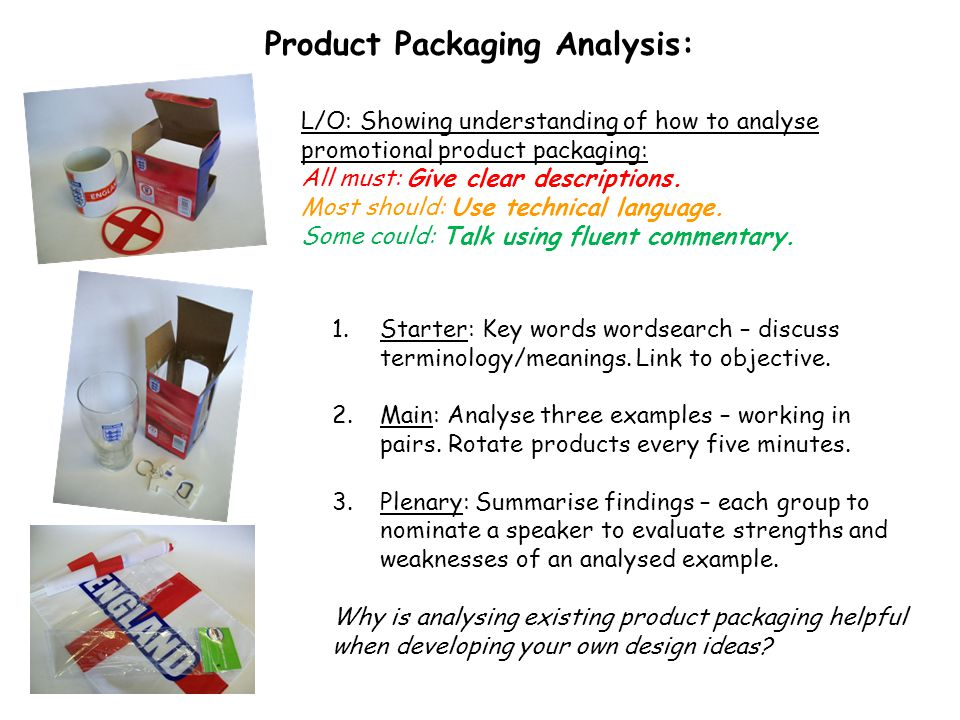 Product Packaging Analysis:
