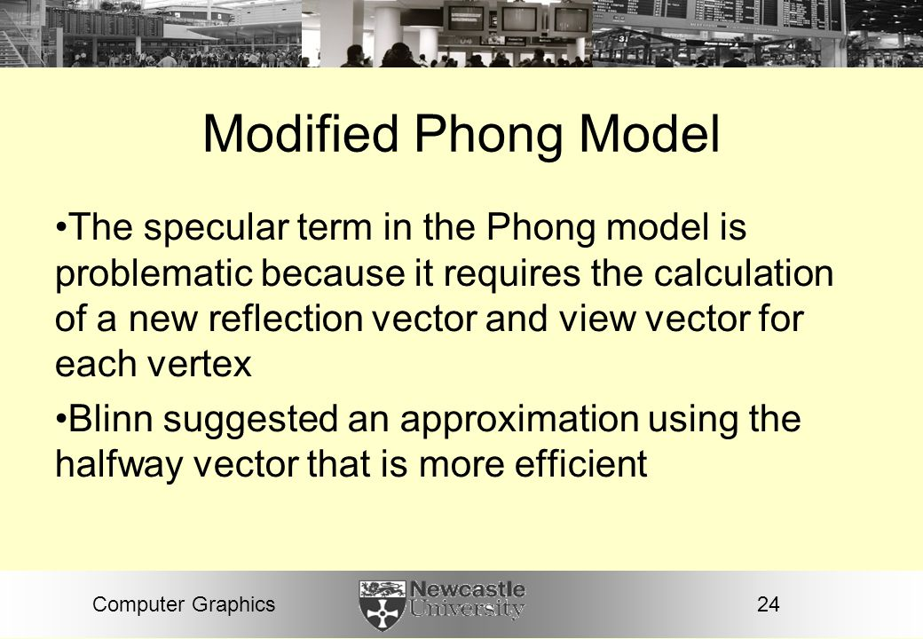 Modified Phong Model