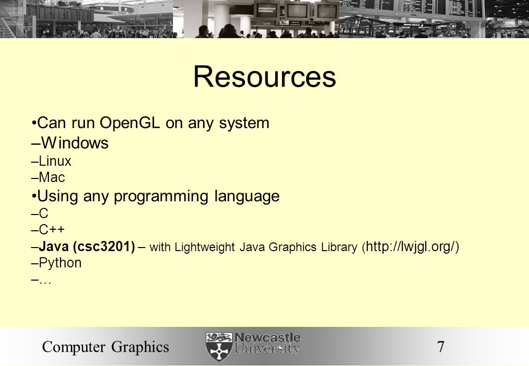 Resources Windows Can run OpenGL on any system