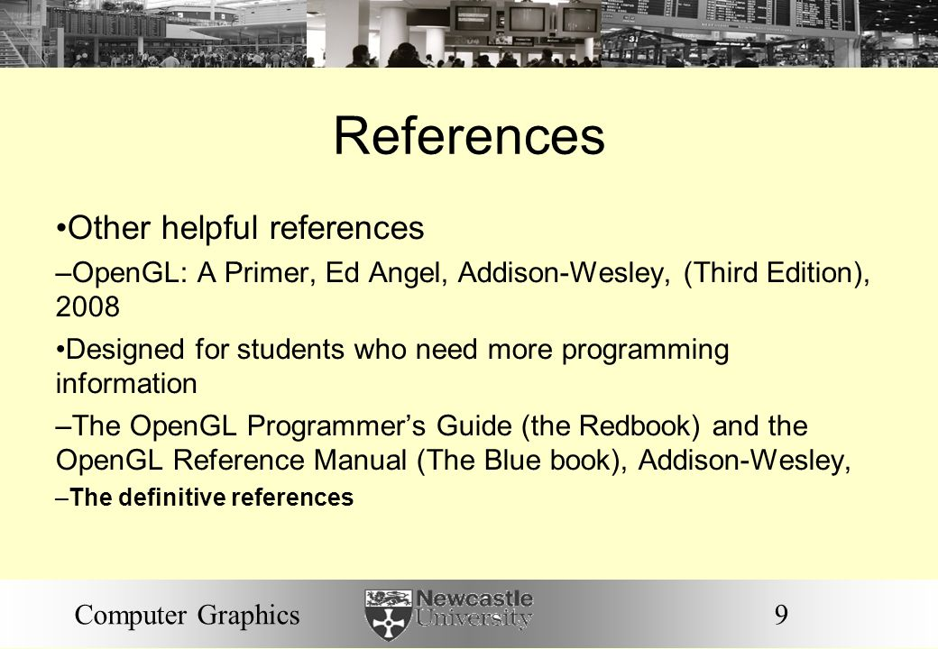References Other helpful references