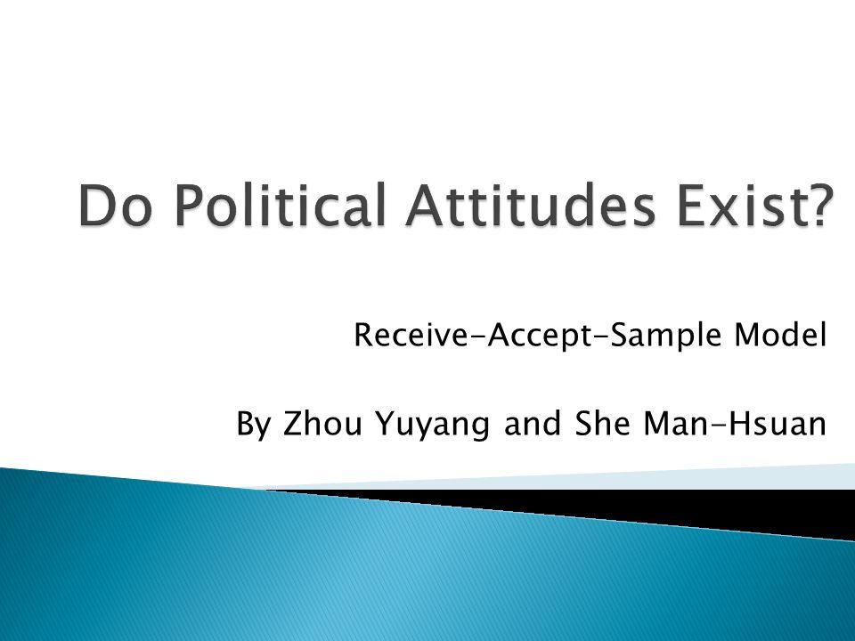 Do Political Attitudes Exist