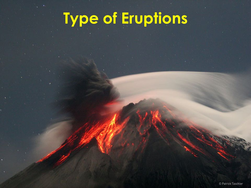 Type of Eruptions