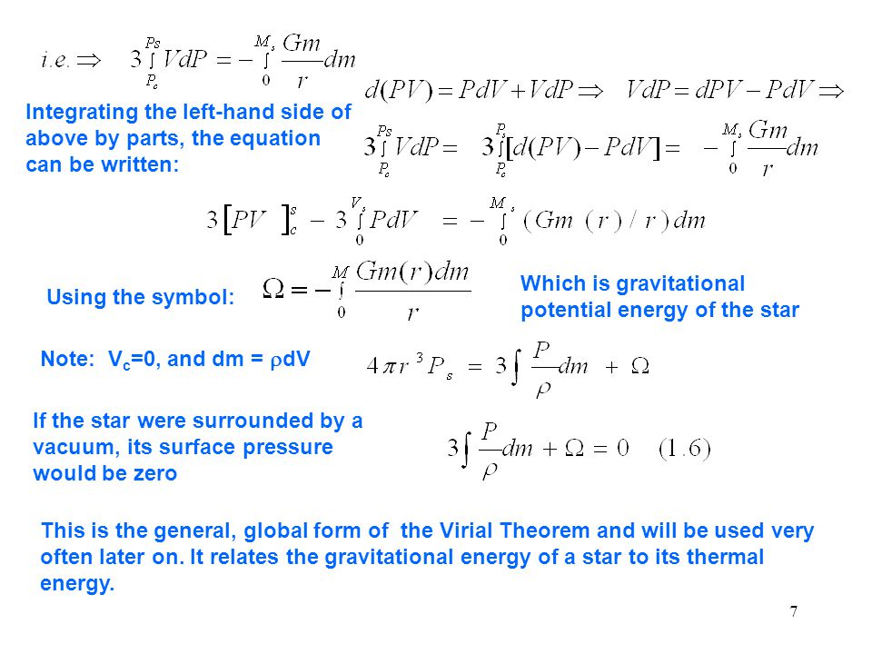Which is gravitational potential energy of the star Using the symbol: