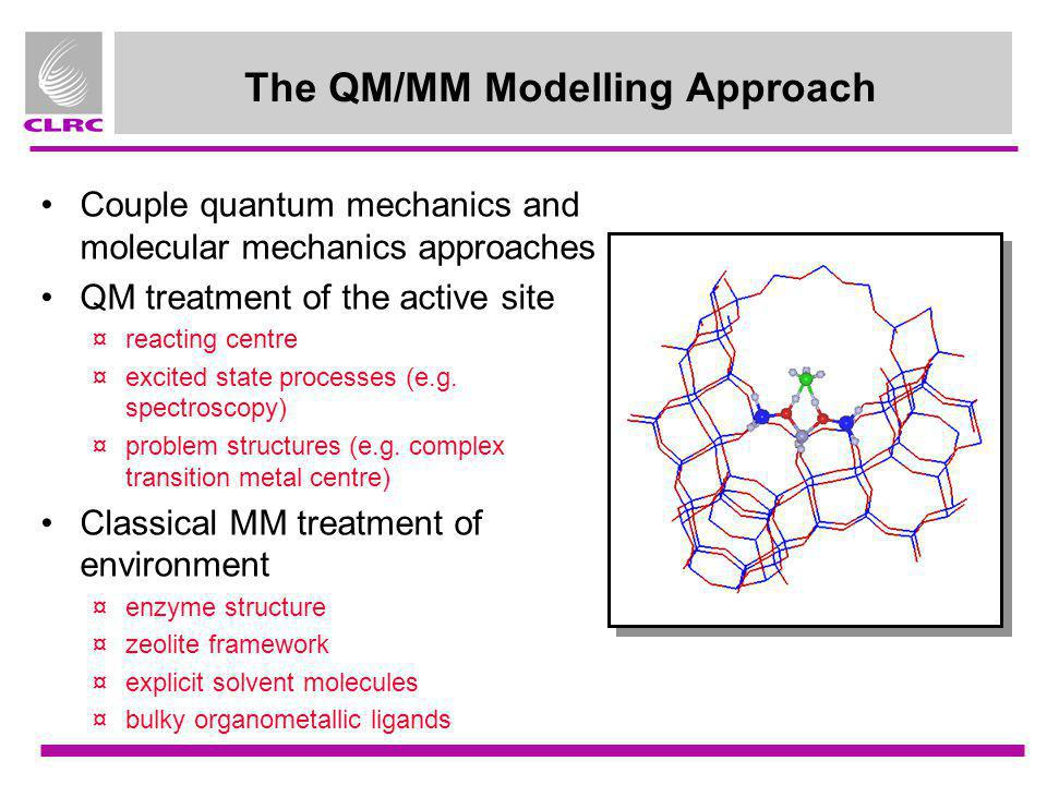 The QM/MM Modelling Approach