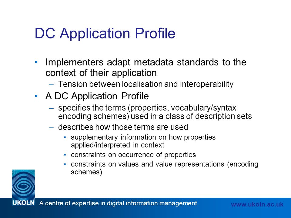 DC Application Profile