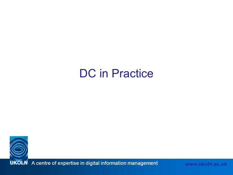 DC in Practice