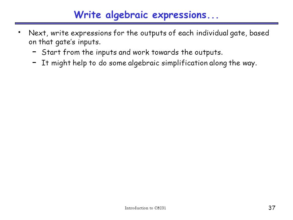 Write algebraic expressions...