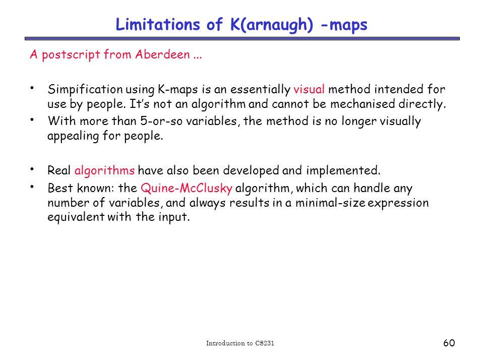 Am algorithm for circuit simplification