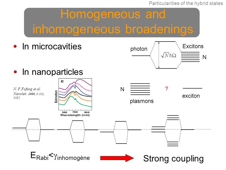 Homogeneous and inhomogeneous broadenings